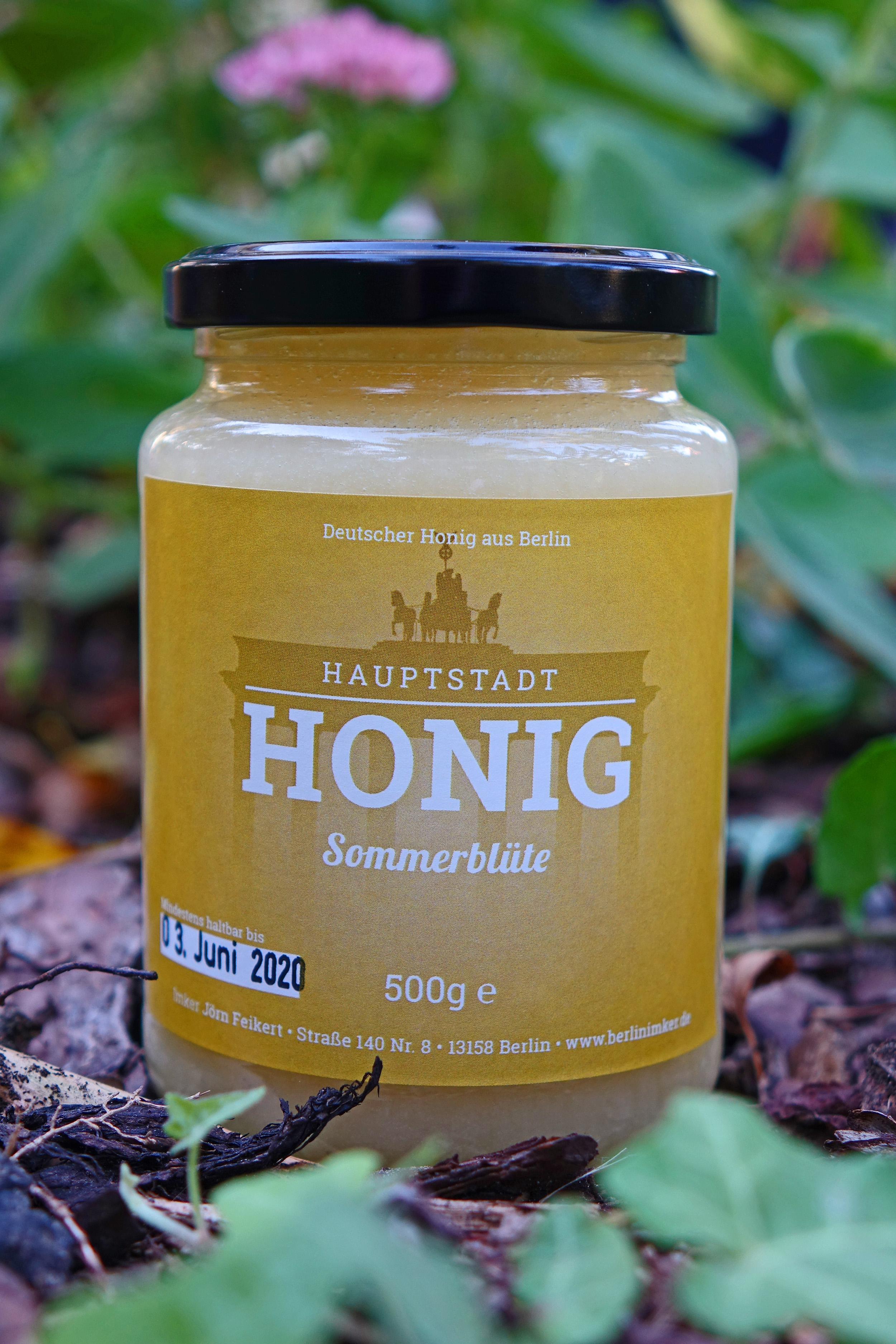 sommerbl te 500 gramm hauptstadt honig. Black Bedroom Furniture Sets. Home Design Ideas